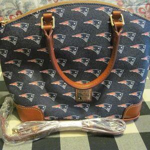 Dooney & Bourke New England Patriots Satchel